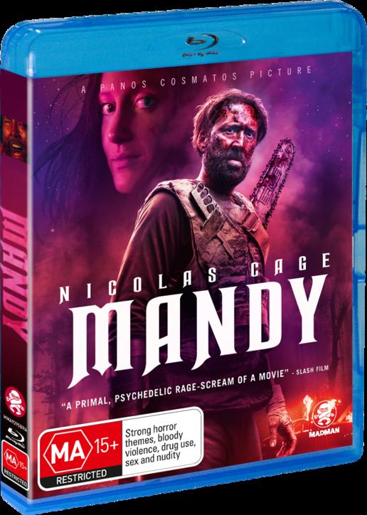 Mandy (2018) 720p BluRay X264-iNVANDRAREN