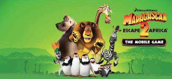 Скачать игру для мобильника:  Madagascar 2: Escape To Africa