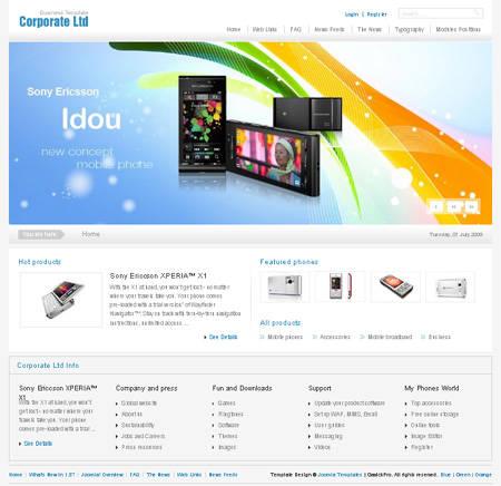 Gavick Corporate Ltd. v2.0.1 Update - Joomla template