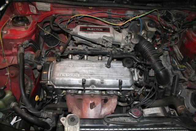 Mazda 323 1 6 8v head gasket and head bolt torque settings