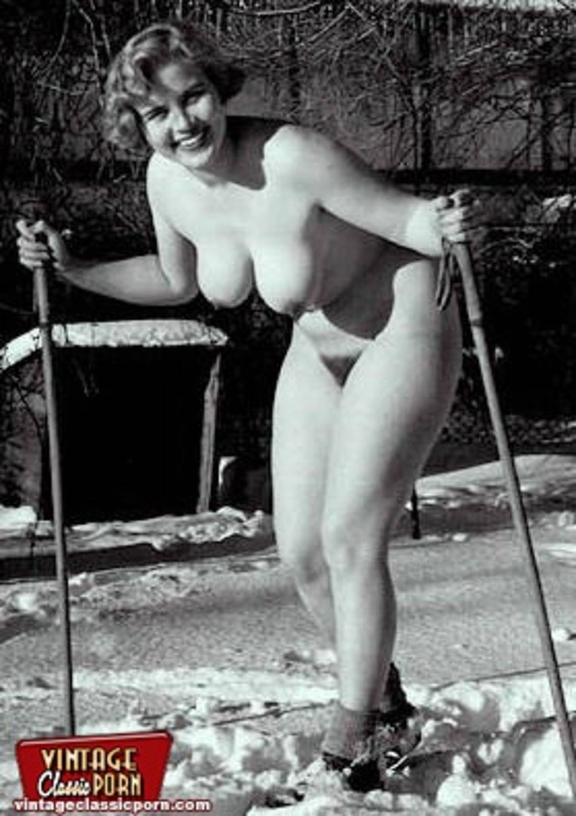 Русская лыжница трахнула 4 фотография