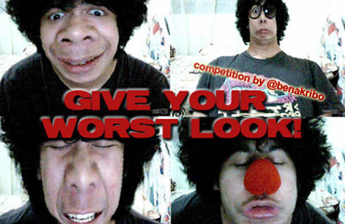 give your worst look competition by @benakribo