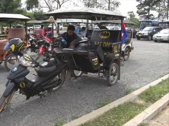 Rancangan Batmobil terbaru utk film Batman terbaru....