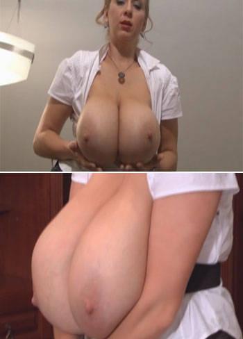 amateur huge natural tits huge anal - Abbi Secraa – Huge Secretary Boobs
