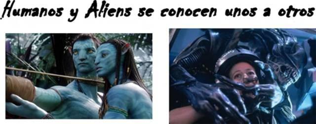 Son la misma película Avatar y Aliens ¿Por qué?