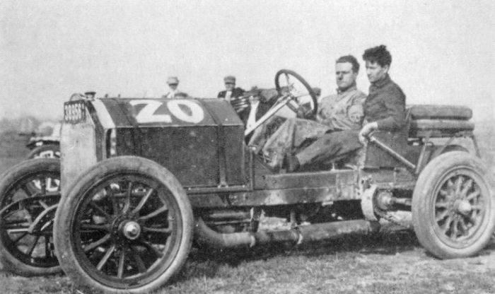 Pierwsze wyścigi samochodowe 7