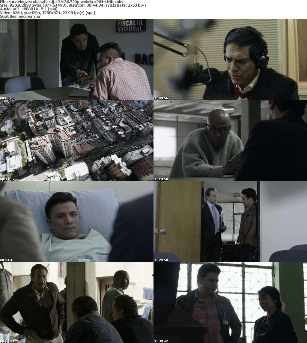 Surviving Escobar Alias JJ S01E36 720p WEBRip x264-STRiFE