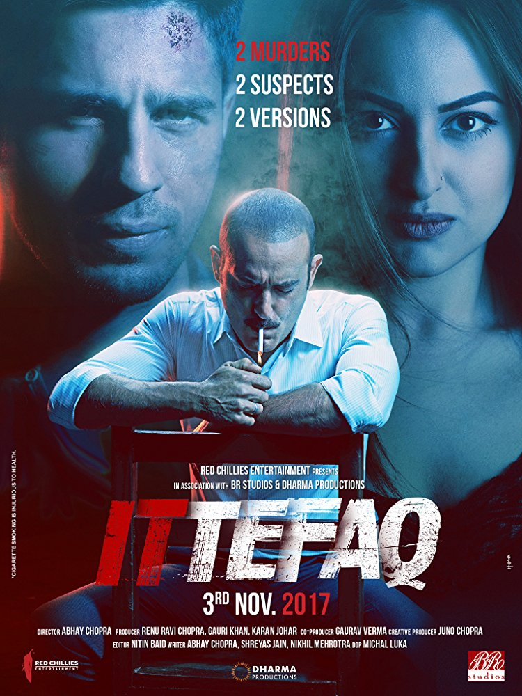 Ittefaq 2017 Hindi 720p (Upscale) DVDRip x264 ESubs DD 5 1 - LOKI - M2Tv