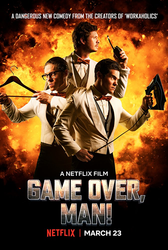 Game Over Man 2018 720p WEBRip XviD AC3-FGT
