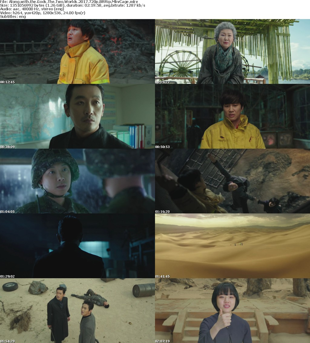 Along with the Gods The Two Worlds 2017 720p BRRip MkvCage