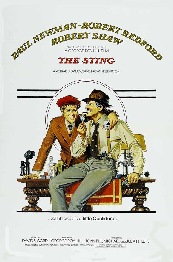 The Sting 1973 720p BRRip x264-x0r
