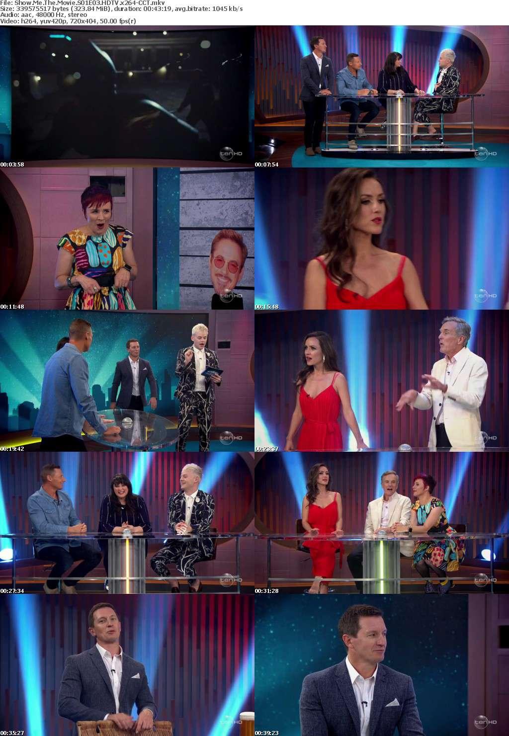 Show Me The Movie S01E03 HDTV x264-CCT