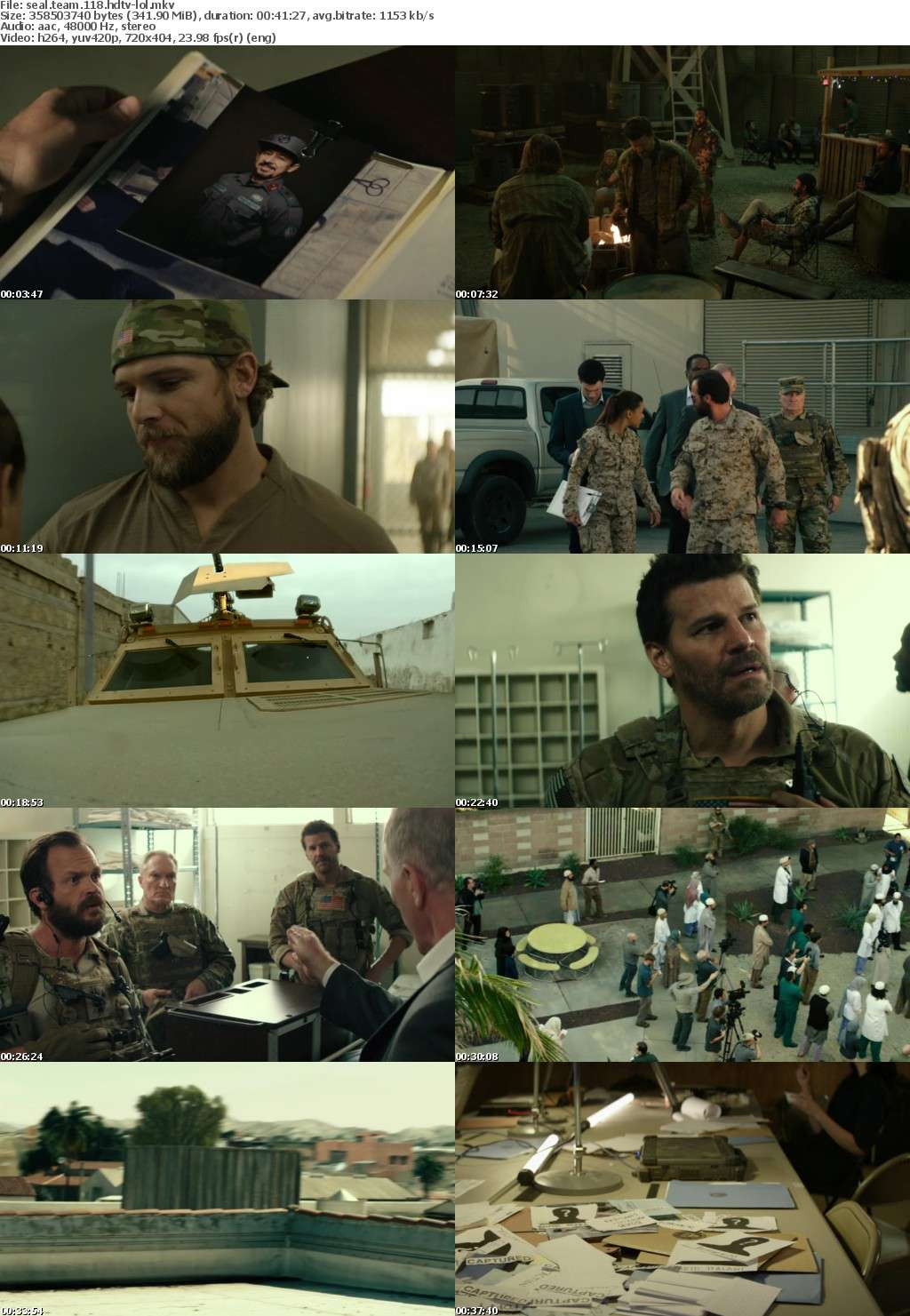 Seal Team S01E18 HDTV x264-LOL