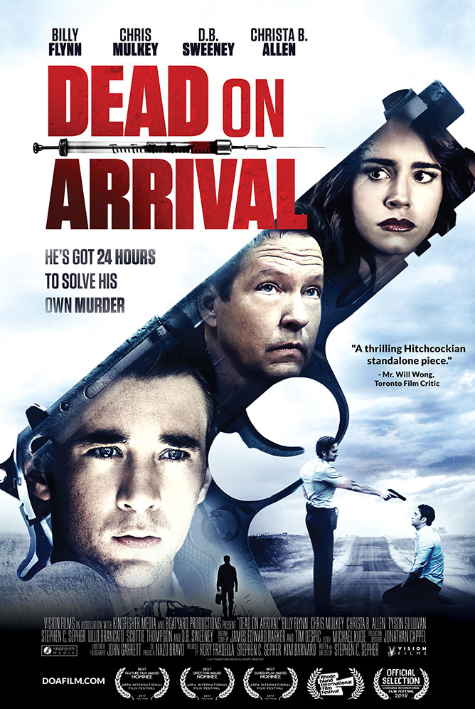 Dead on Arrival (2017) [WEBRip] [720p] YIFY