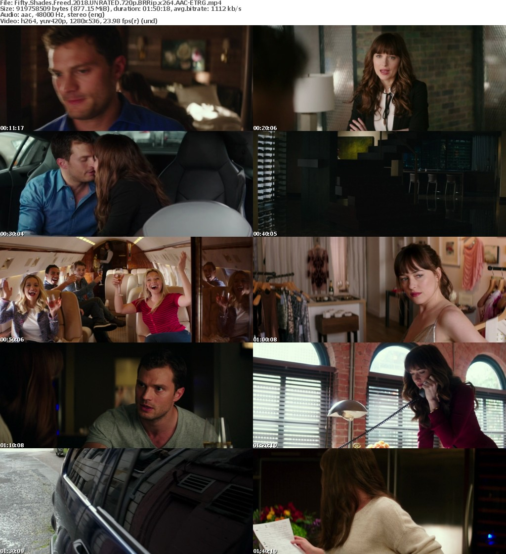 Fifty Shades Freed (2018) UNRATED 720p BRRip x264 AAC-ETRG