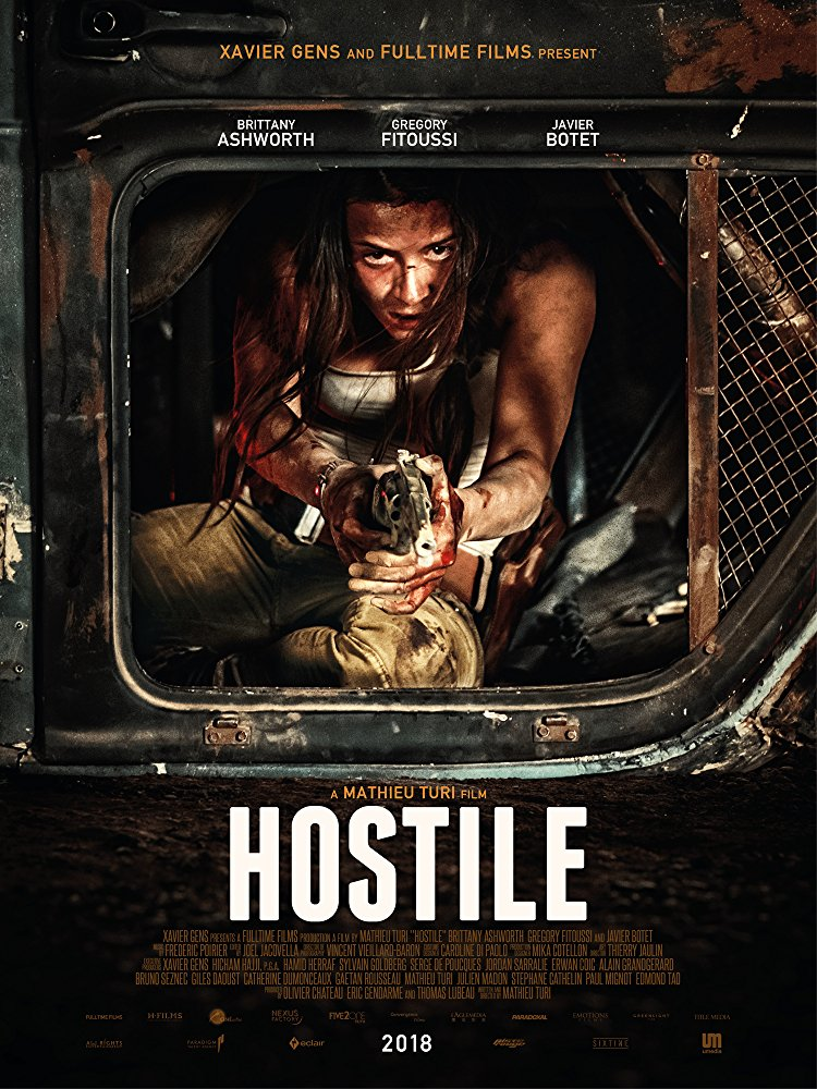 Hostile 2017 DUBBED 480p x264-mSD