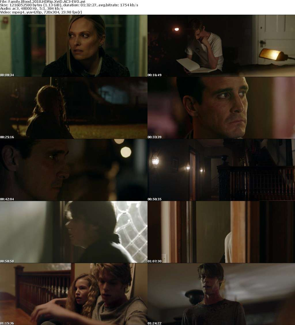Family Blood (2018) HDRip XviD AC3-EVO