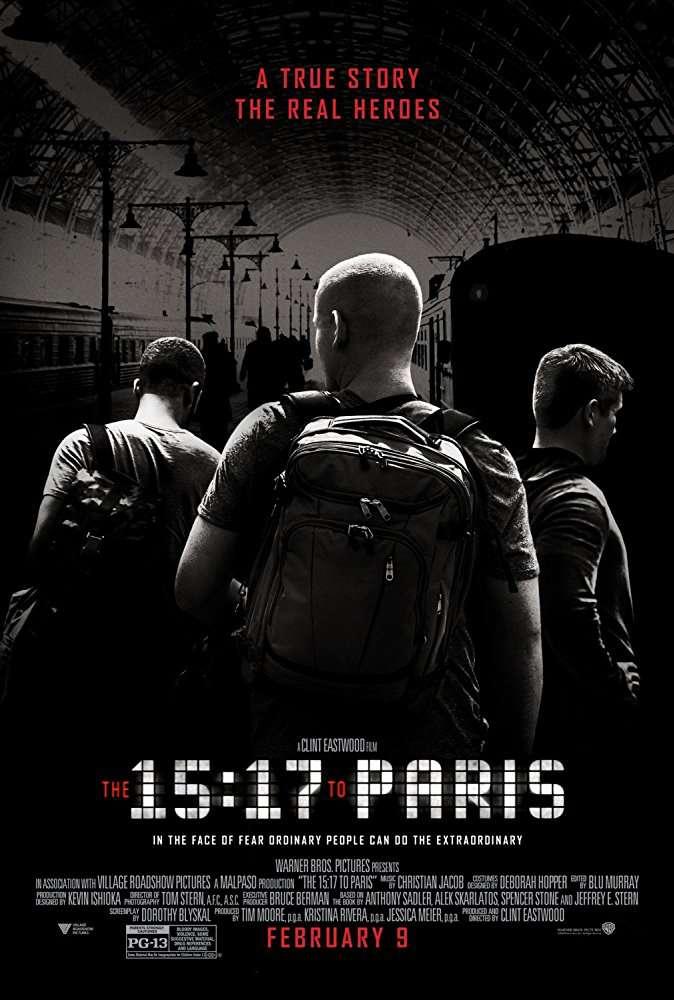 The 15 17 to Paris 2018 1080p BluRay x264-GECKOS