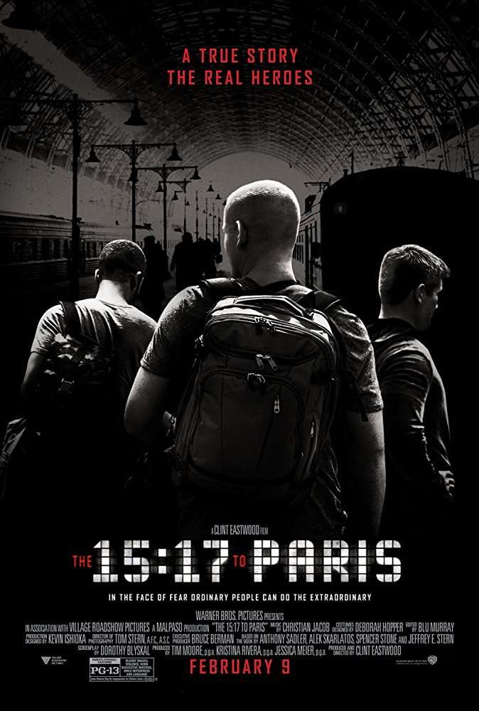 The 15 17 to Paris 2018 720p BluRay H264 AAC-RARBG