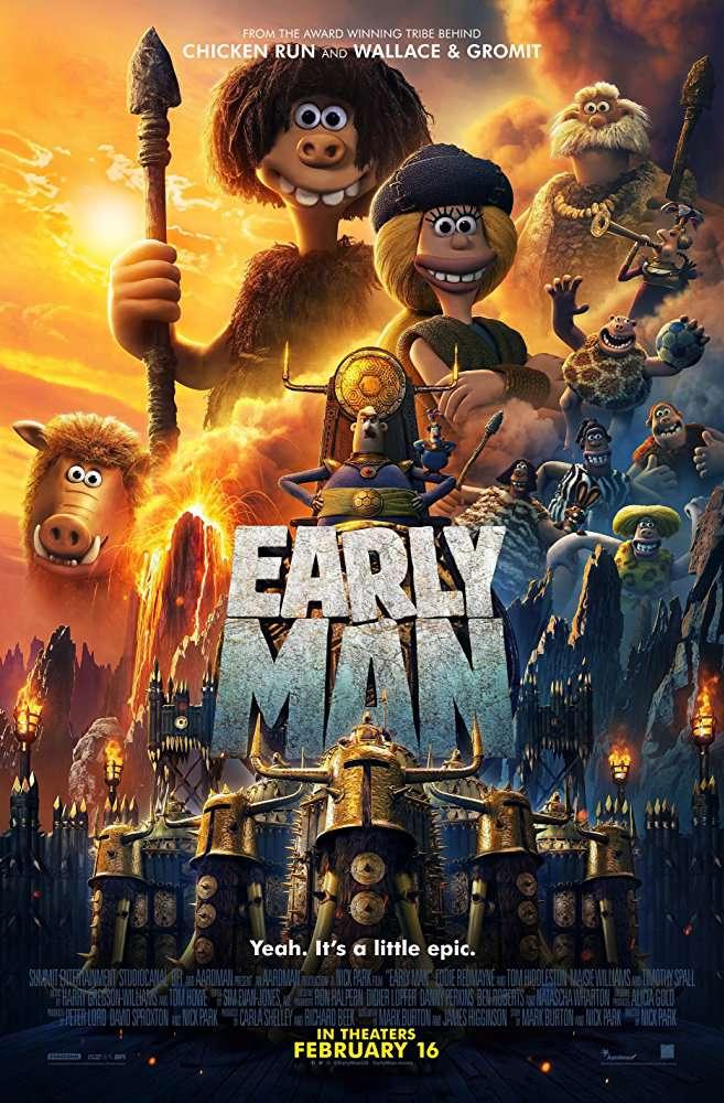 Early Man 2018 720p HDRip X264 AC3-EVO