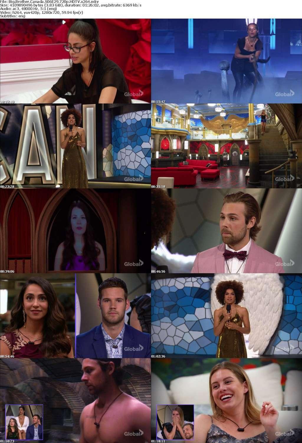 Big Brother Canada S06E29 720p HDTV x264