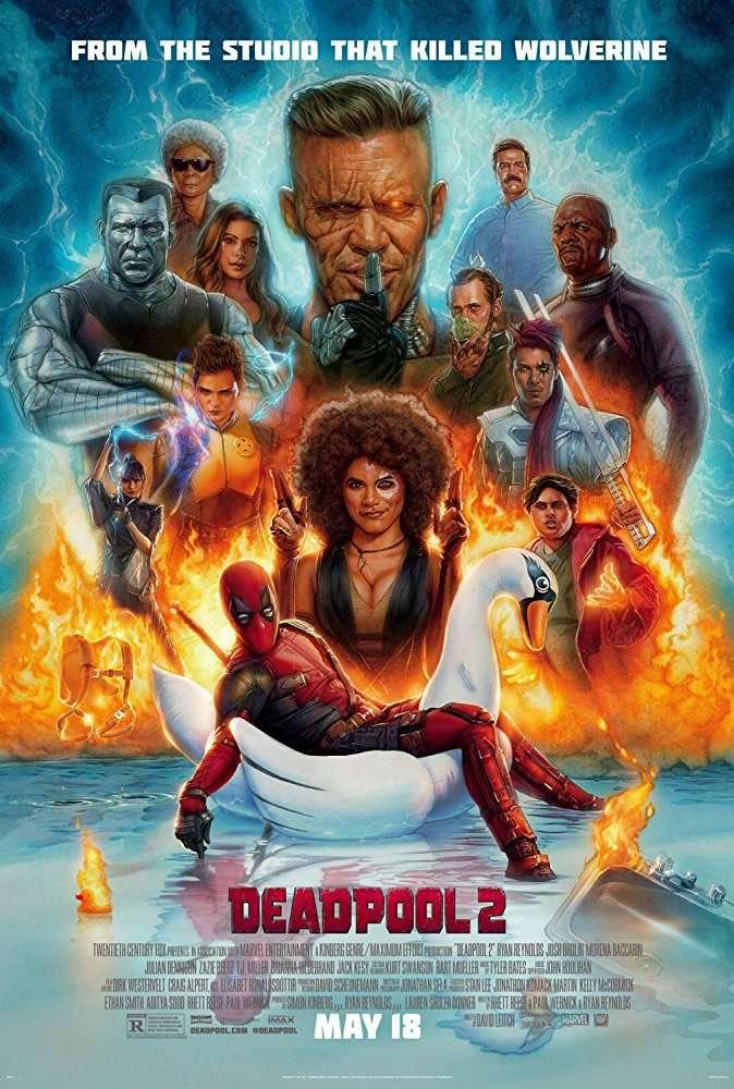 Deadpool (2016) BluRay 720p 900MB Ganool
