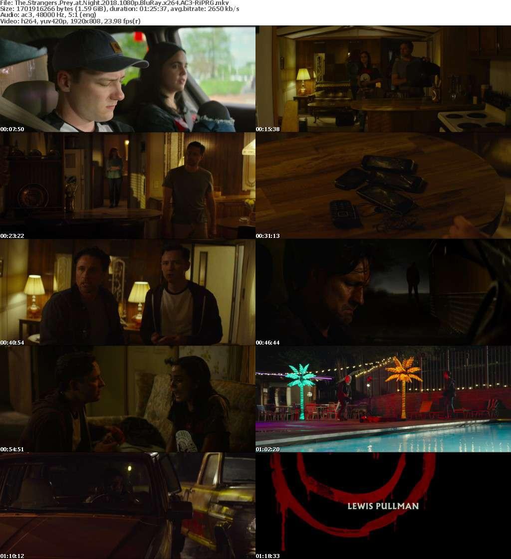 The Strangers Prey at Night (2018) 1080p BluRay x264 AC3-RiPRG