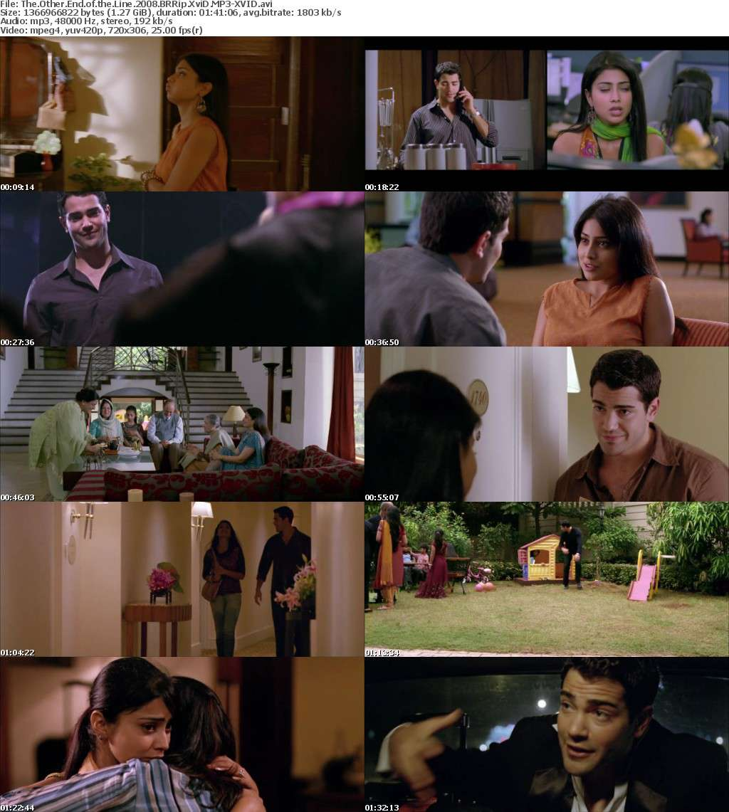 The Other End of the Line 2008 BRRip XviD MP3-XVID