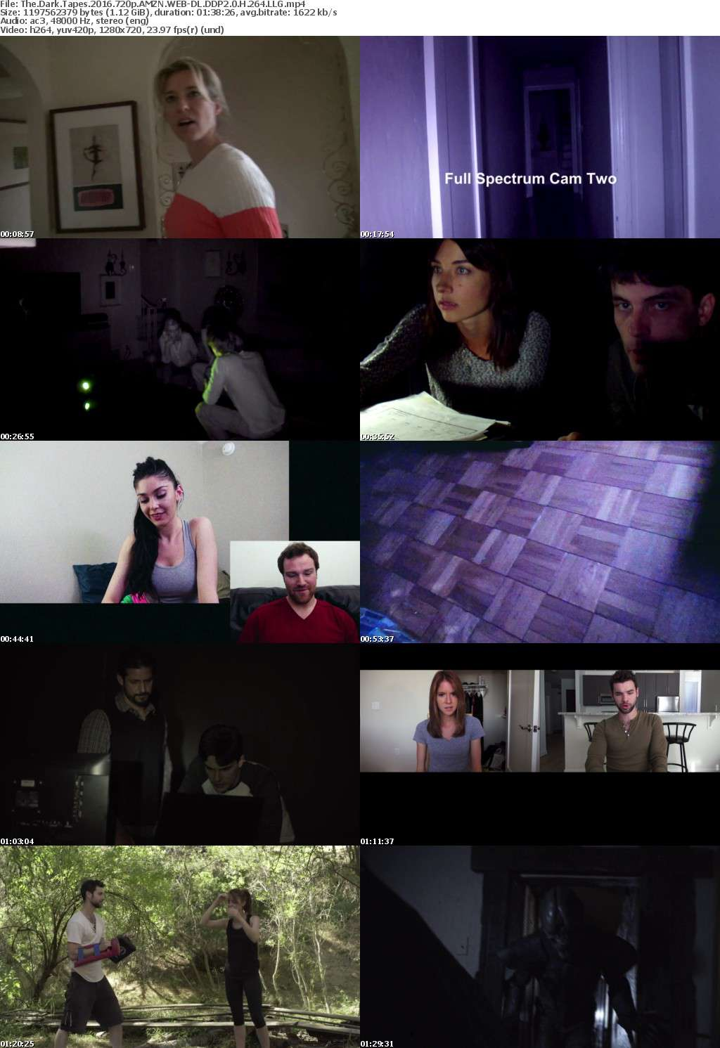 The Dark Tapes 2016 720p AMZN WEB-DL DDP2 0 H 264 LLG