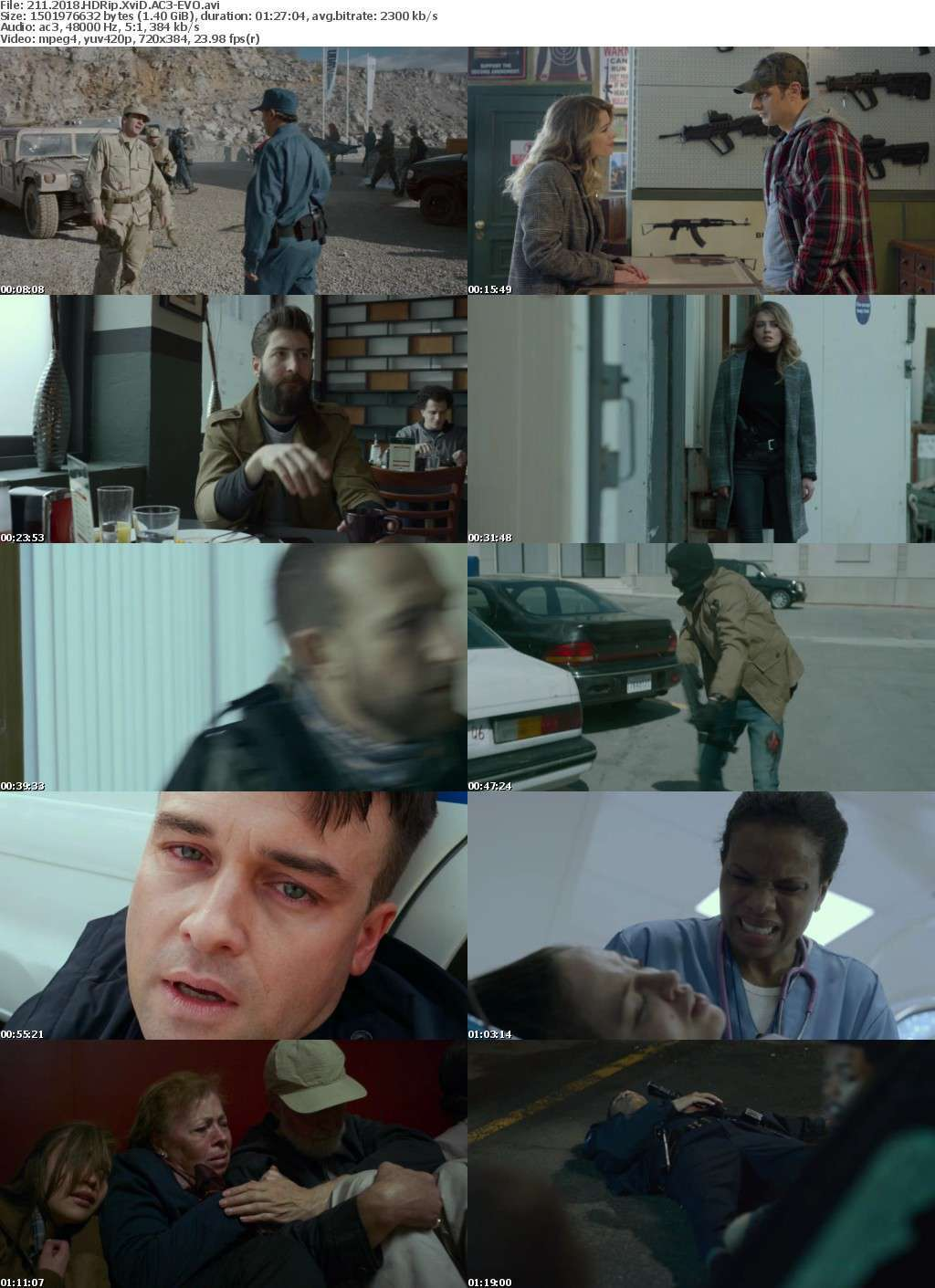 211 (2018) HDRip XviD AC3-EVO