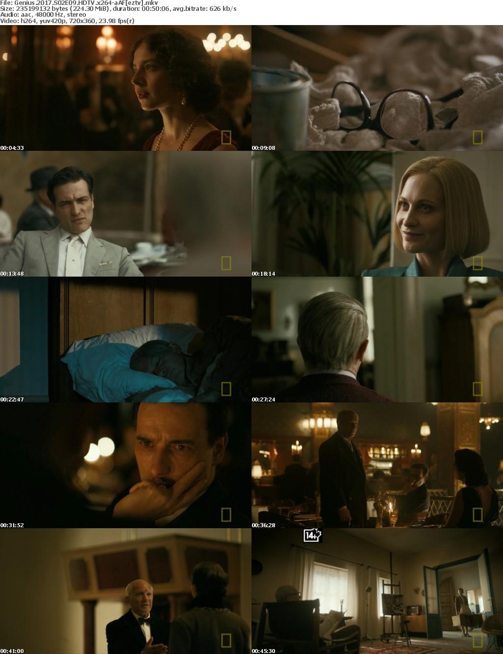 Genius (2017) S02E09 HDTV x264-aAF