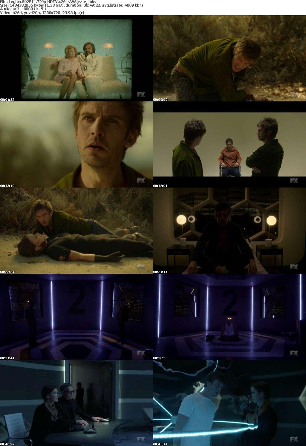 Legion S02E11 720p HDTV x264-AVS