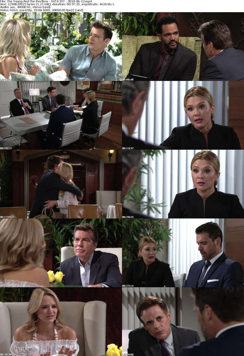 The Young And The Restless - S45 E197 - 2018-06-12