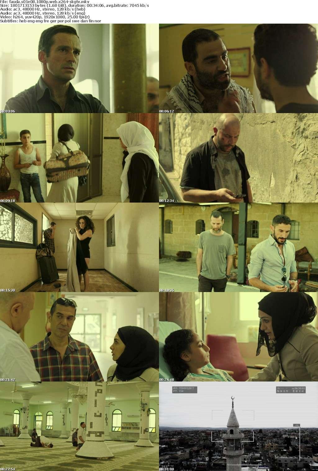 Fauda S01E08 1080p WEB x264-SKGTV
