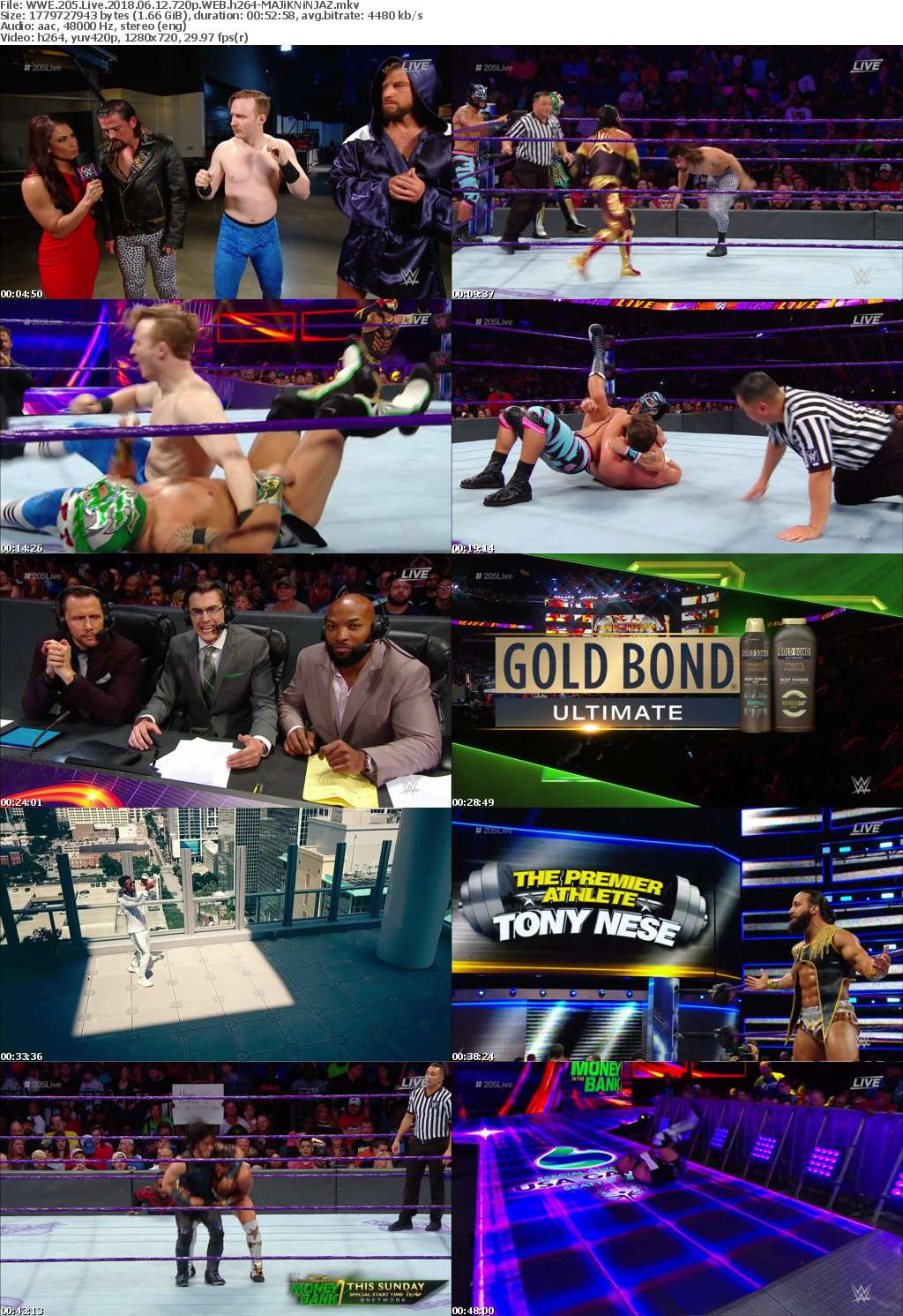 WWE 205 Live 2018 06 12 720p WEB h264-MAJiKNiNJAZ