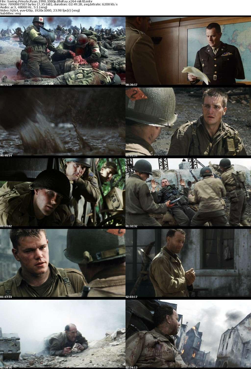 Saving Private Ryan 1998 1080p BluRay x264-nikt0