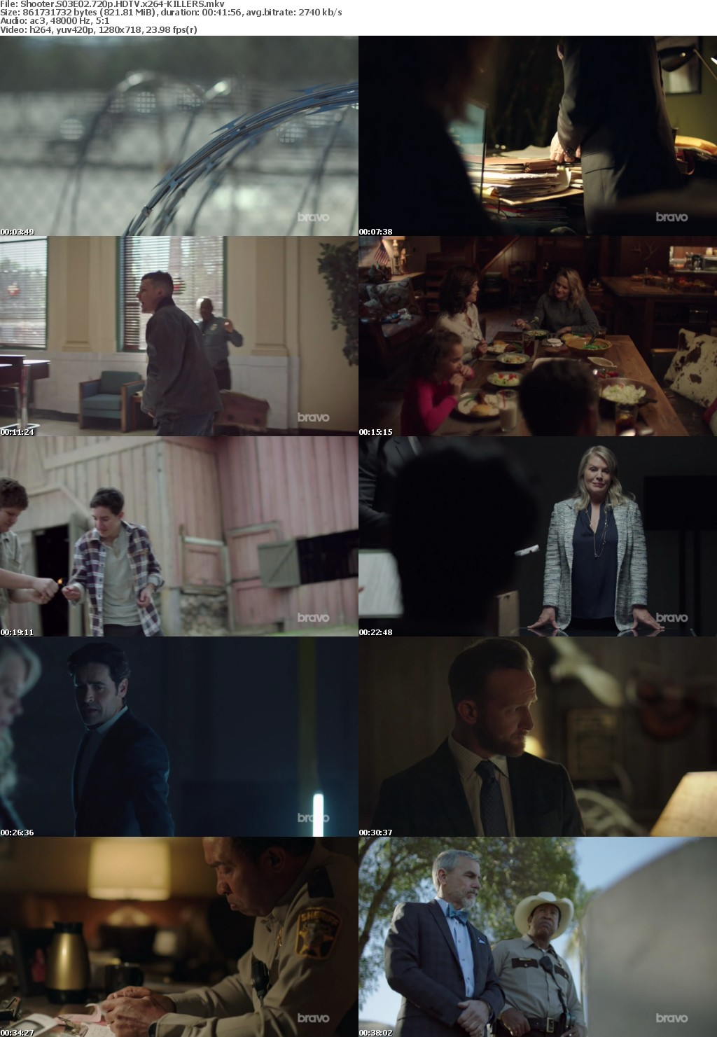 Shooter S03E02 720p HDTV x264-KILLERS