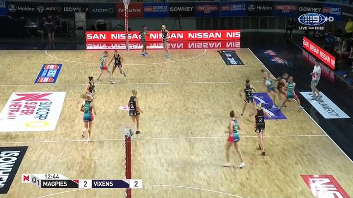 Suncorp Super Netball 2018 Round 8 Magpies vs Vixens HDTV x264-WiNNiNG