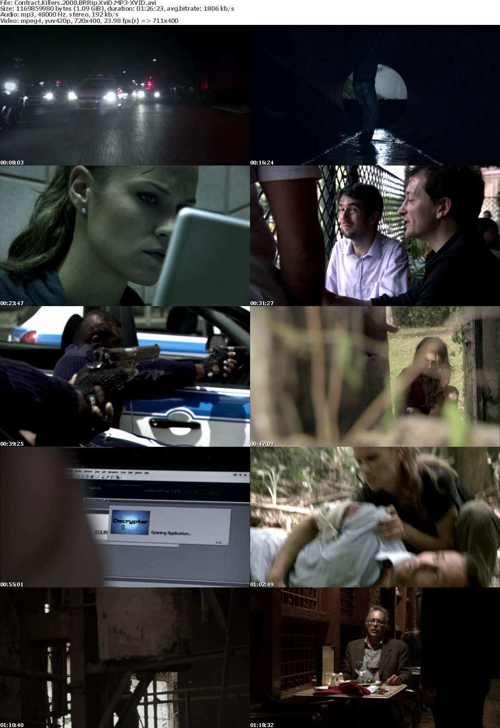 Contract Killers 2008 BRRip XviD MP3-XVID