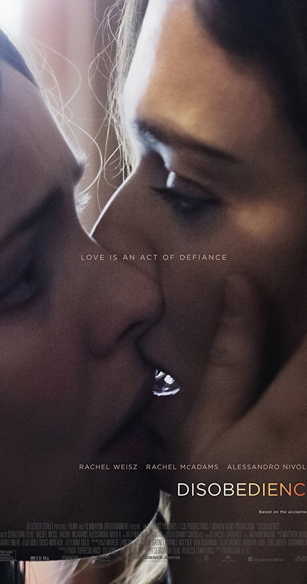 Disobedience 2017 1080p BluRay x264-DRONES