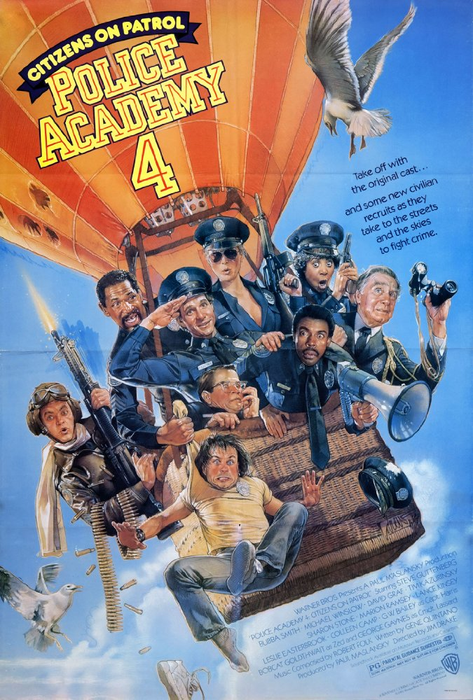 Police Academy 4 Citizens On Patrol (1987) 1080p BluRay H264 AC 3 Remastere ...