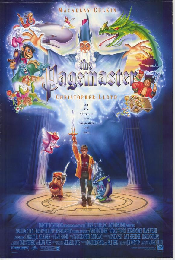The Pagemaster 1994 BRRip XviD MP3-XVID