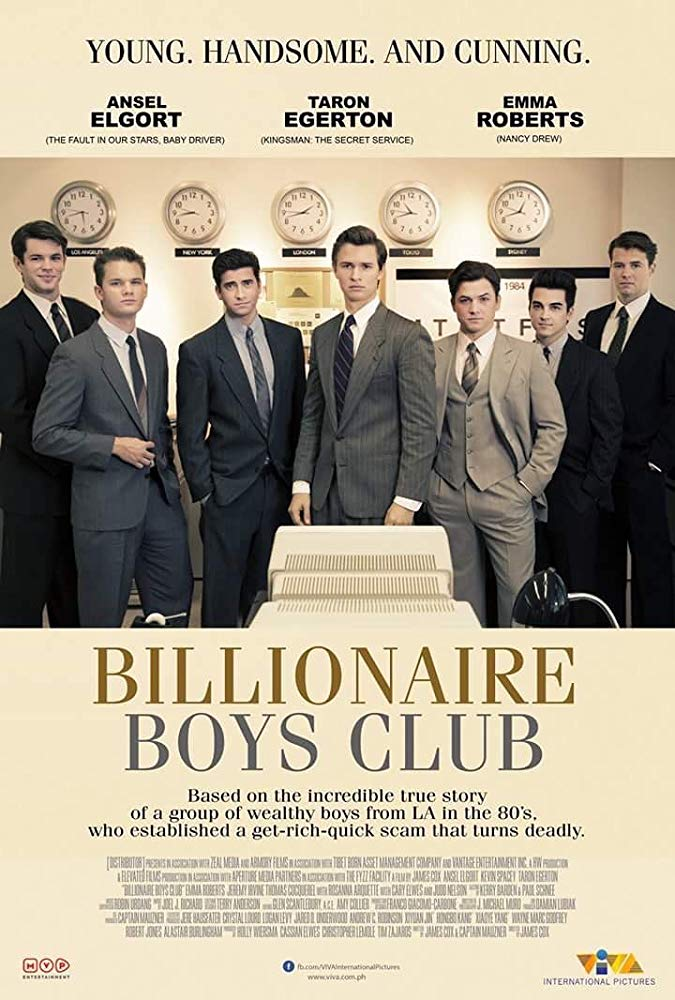 Billionaire Boys Club (2018) 720p WEB-DL DD5.1 H264-CMRG