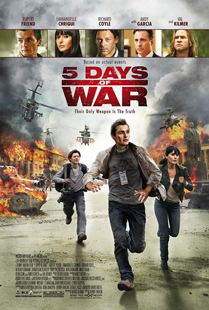 5 Days of War 2011 BRRip XviD MP3-XVID