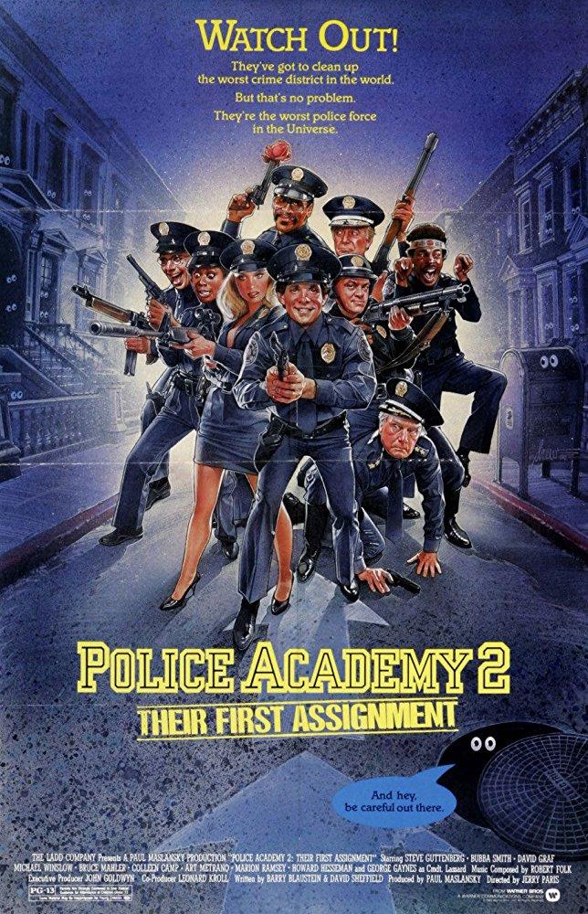Police Academy 2 1985 HDRIP H264 AC3-5 1-RypS