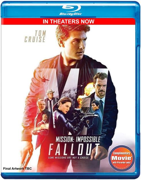 Mission Impossible Fallout (2018) NEW 720p HDCAM x264 Dual Audio Hindi - English MW