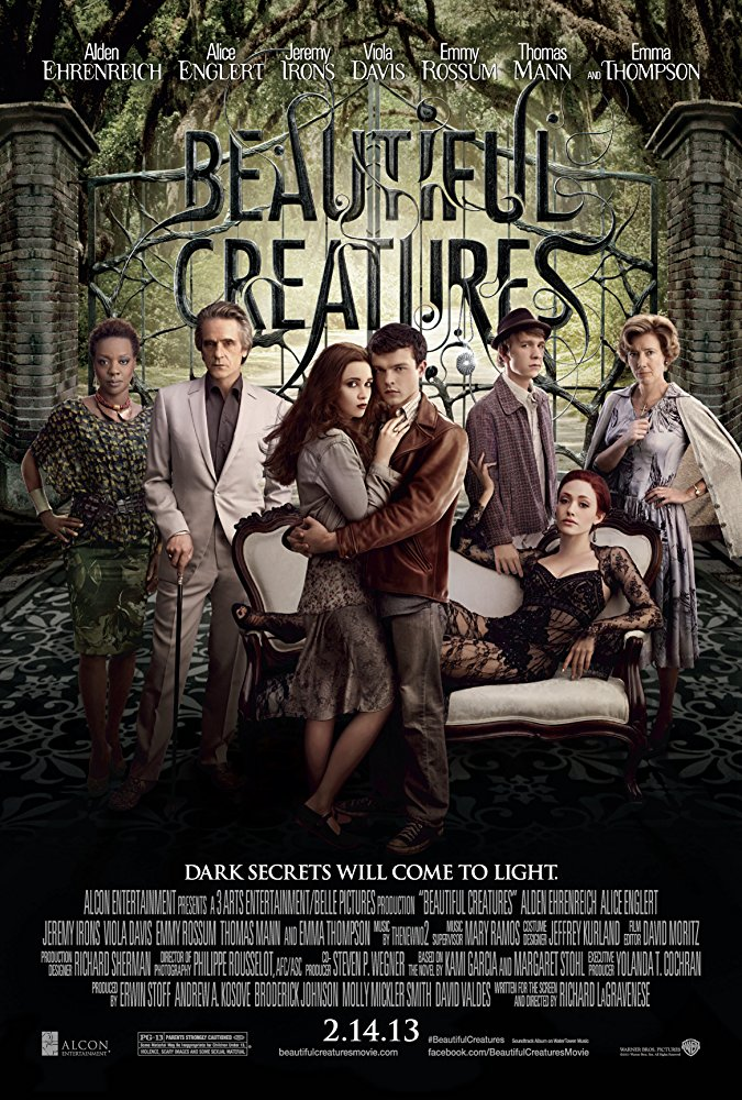 Beautiful Creatures 2013 720p BluRay x264 Dual Audio Hindi DD 5 1 - English 2 0 ESub MW
