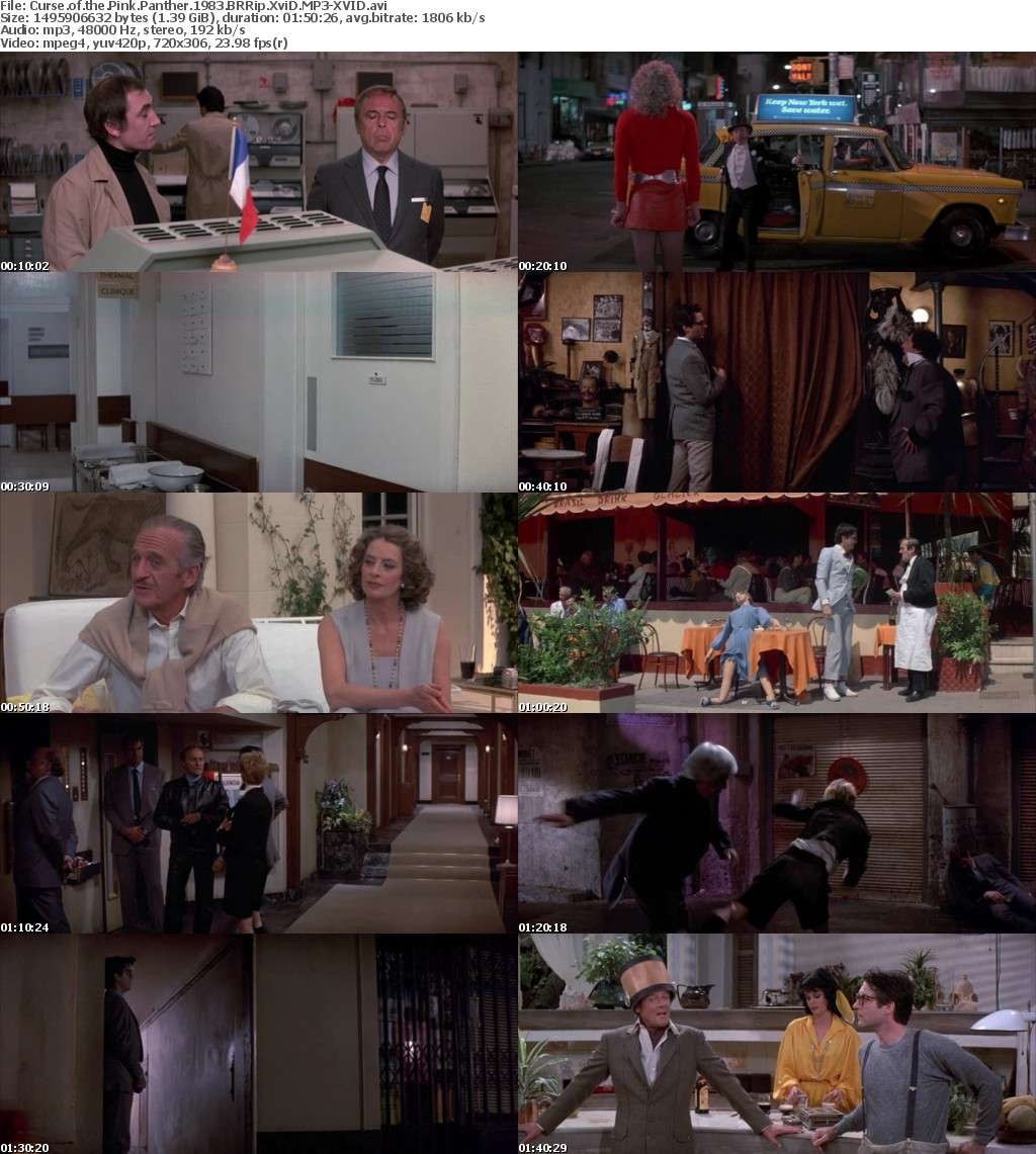 Curse of the Pink Panther 1983 BRRip XviD MP3-XVID