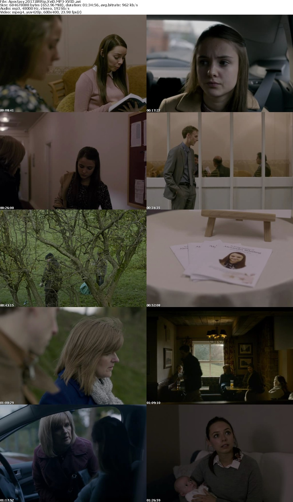 Apostasy 2017 BRRip XviD MP3-XVID