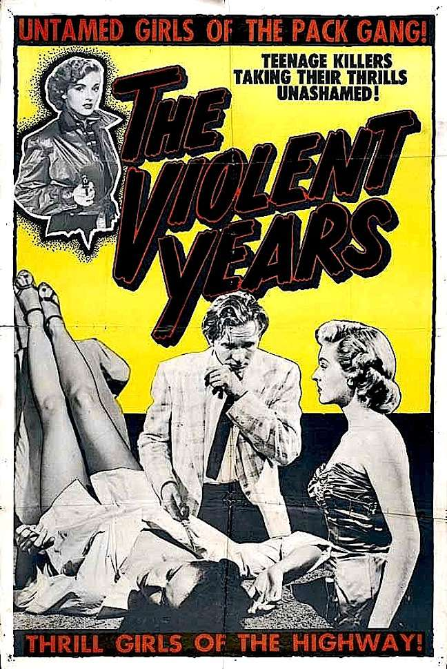 The Violent Years 1956 720p BluRay x264-SADPANDA